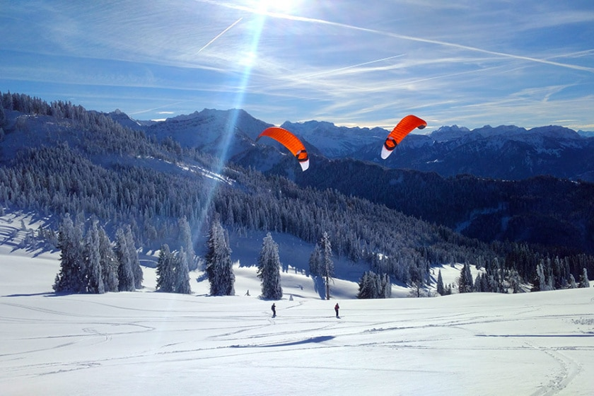 Snowkiting | Knowledge Centre | thekitespot.com