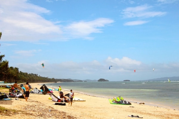 Kiteboarding in the Philippines - Union Beach | THEKITESPOT.COM